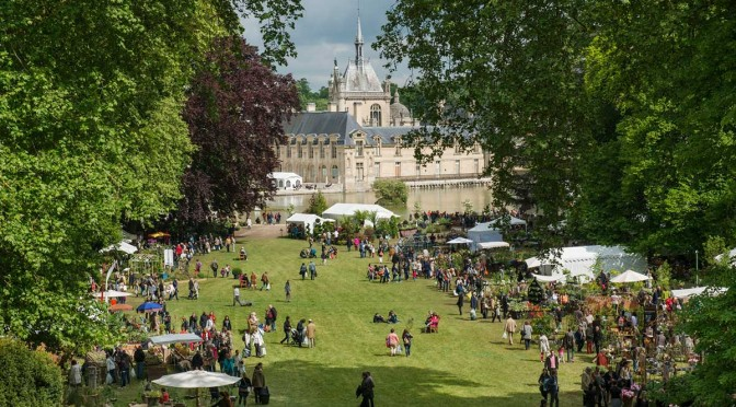 European institute for gardens and landscapes flower show chantilly france - Journee des plantes chantilly ...