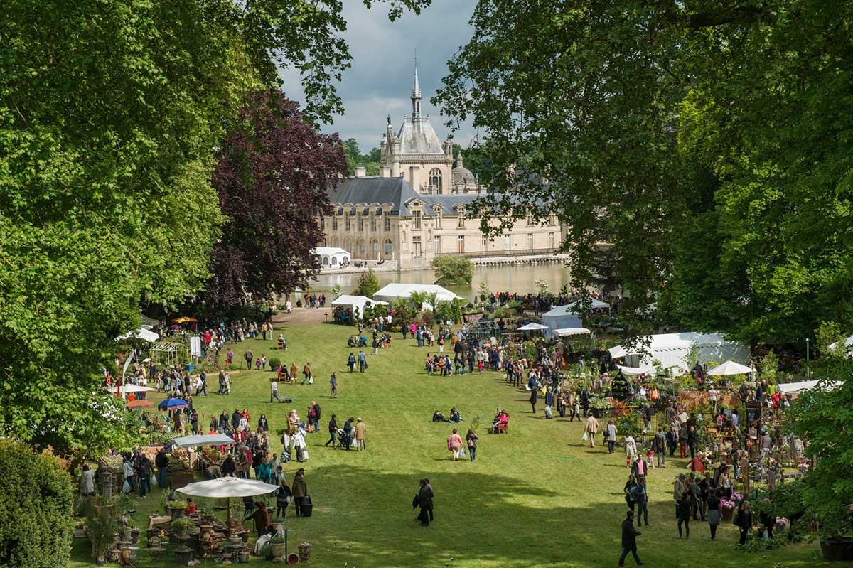 European institute for gardens and landscapes flower - Journee des plantes chantilly ...