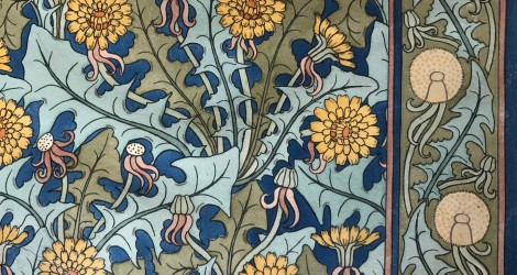 Eugène Grasset, La flore et ses applications ornementales, Pissenlit, 1896